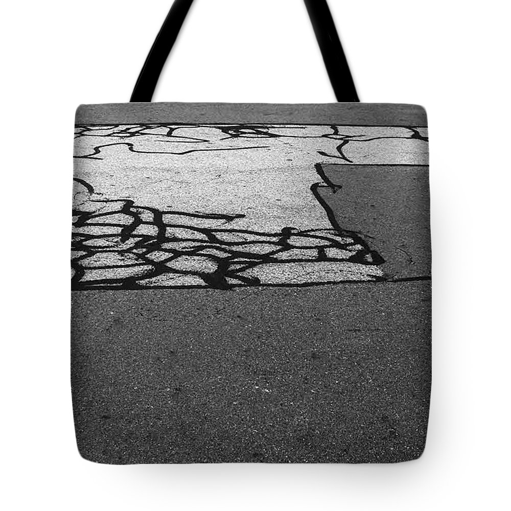 Abstract Tote Bag featuring the photograph Rhythm No.18 by Fei A