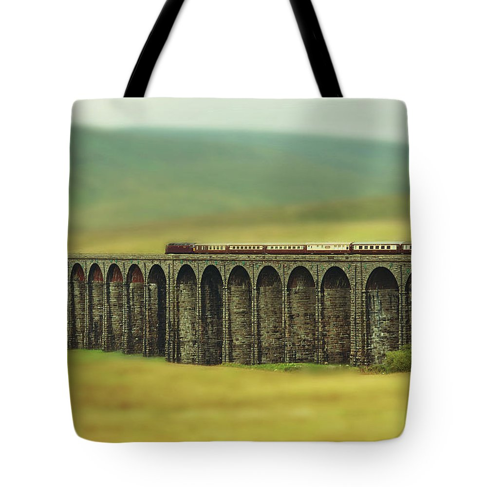 Arch Tote Bag featuring the photograph Ribblehead by Jon Parkes Photography