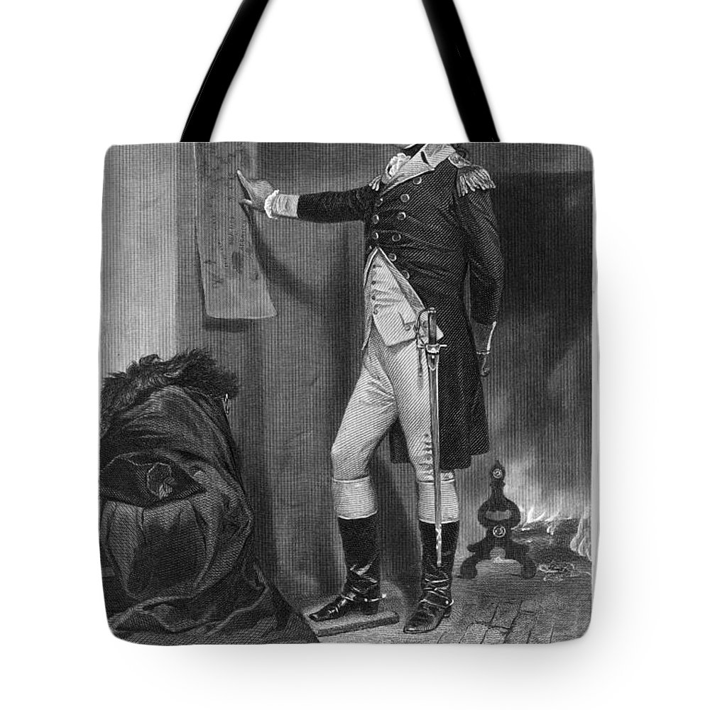 1775 Tote Bag featuring the photograph Richard Montgomery by Granger
