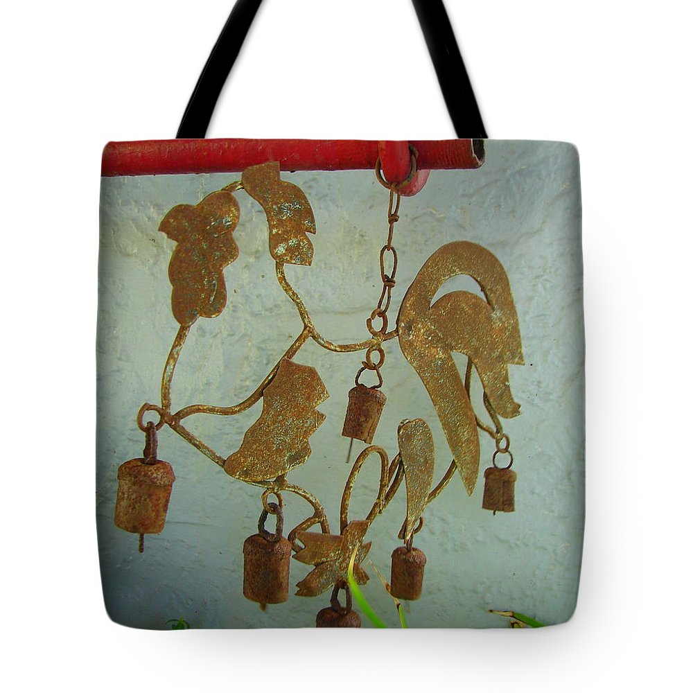 Bell Tote Bag featuring the photograph Ring In The Morning by Lew Davis
