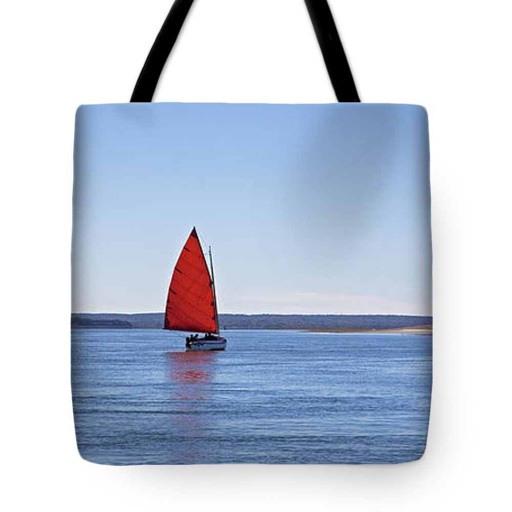 Sail Tote Bag featuring the photograph Ripple by Charles Harden