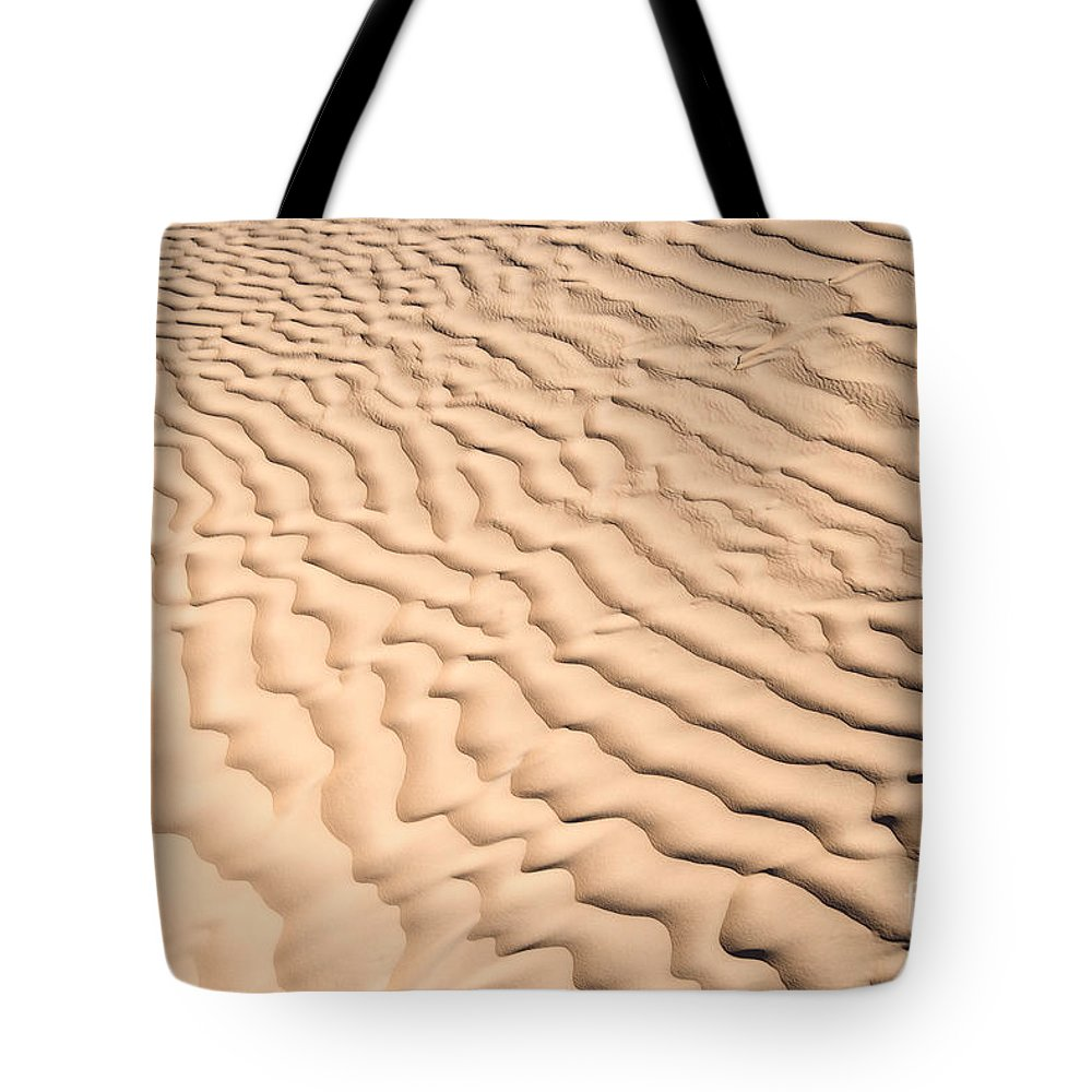 Desert Tote Bag featuring the photograph Ripples by Delphimages Photo Creations
