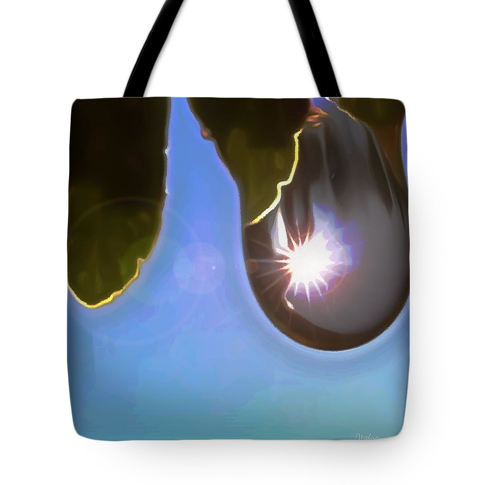 Clear Blue Sky Tote Bag featuring the digital art Rise And Shine From Dullness by Withintensity Touch