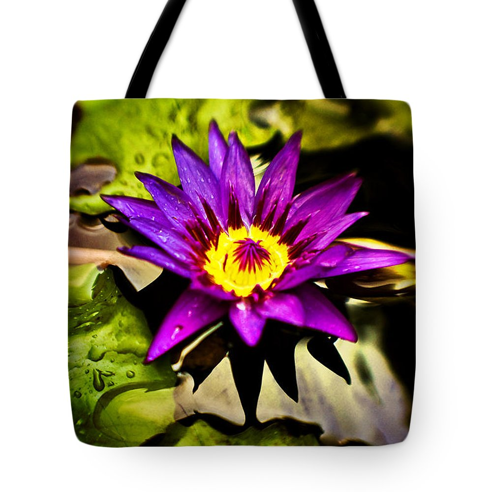 Flower Tote Bag featuring the photograph Rise And Shine by Scott Pellegrin