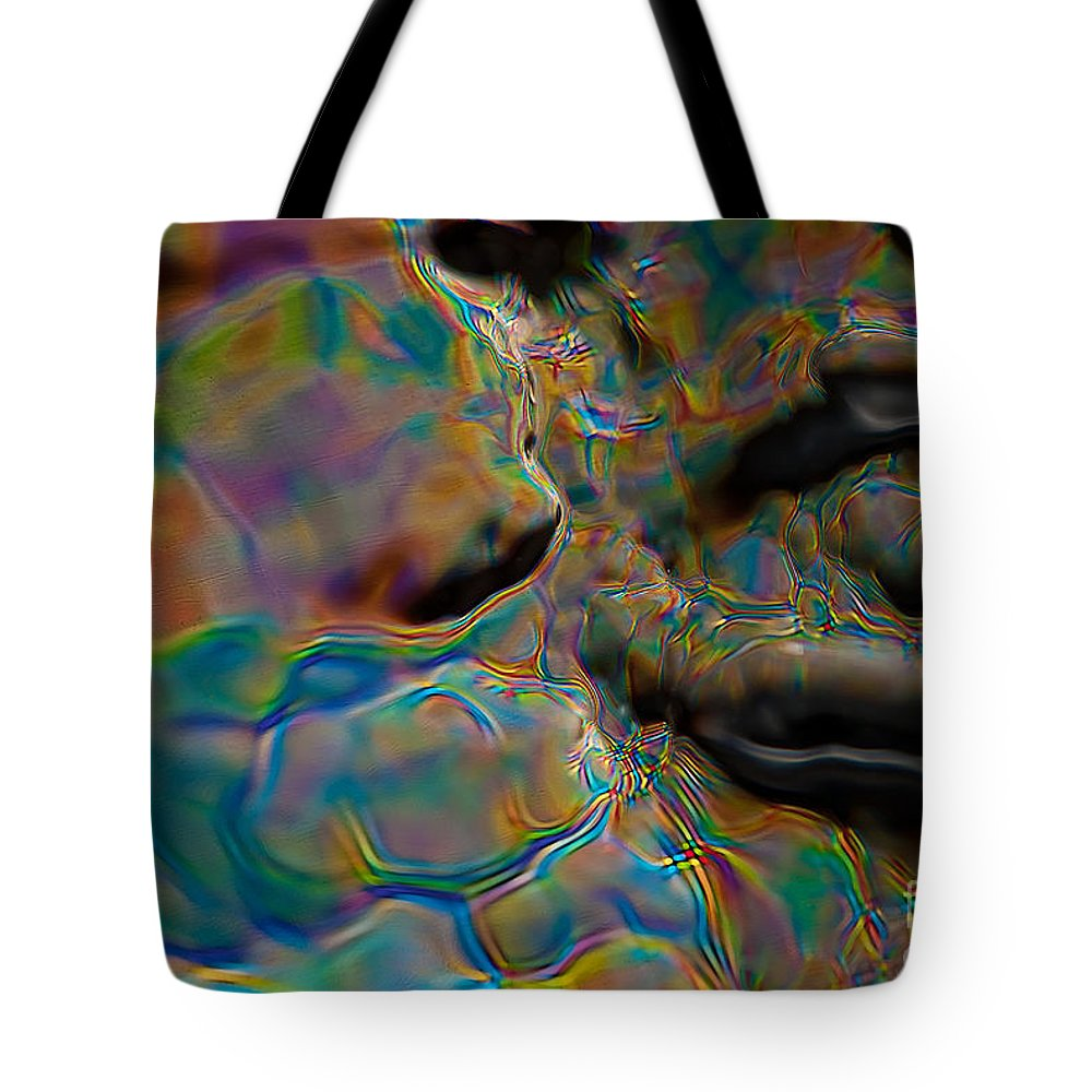 Abstract Tote Bag featuring the photograph Rise Of Caesar by Anthony Sacco