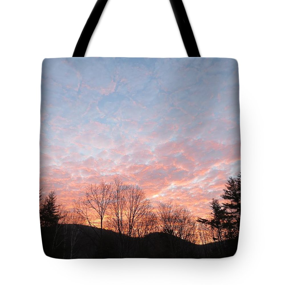 Landscape Tote Bag featuring the photograph Rising Beauty by MTBobbins Photography