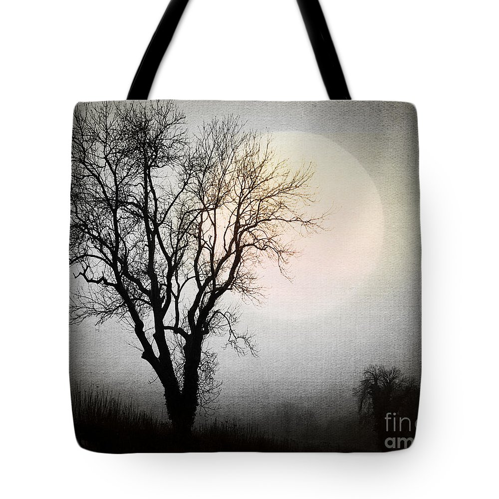 Digital Art Tote Bag featuring the photograph Rising In The East by Edmund Nagele