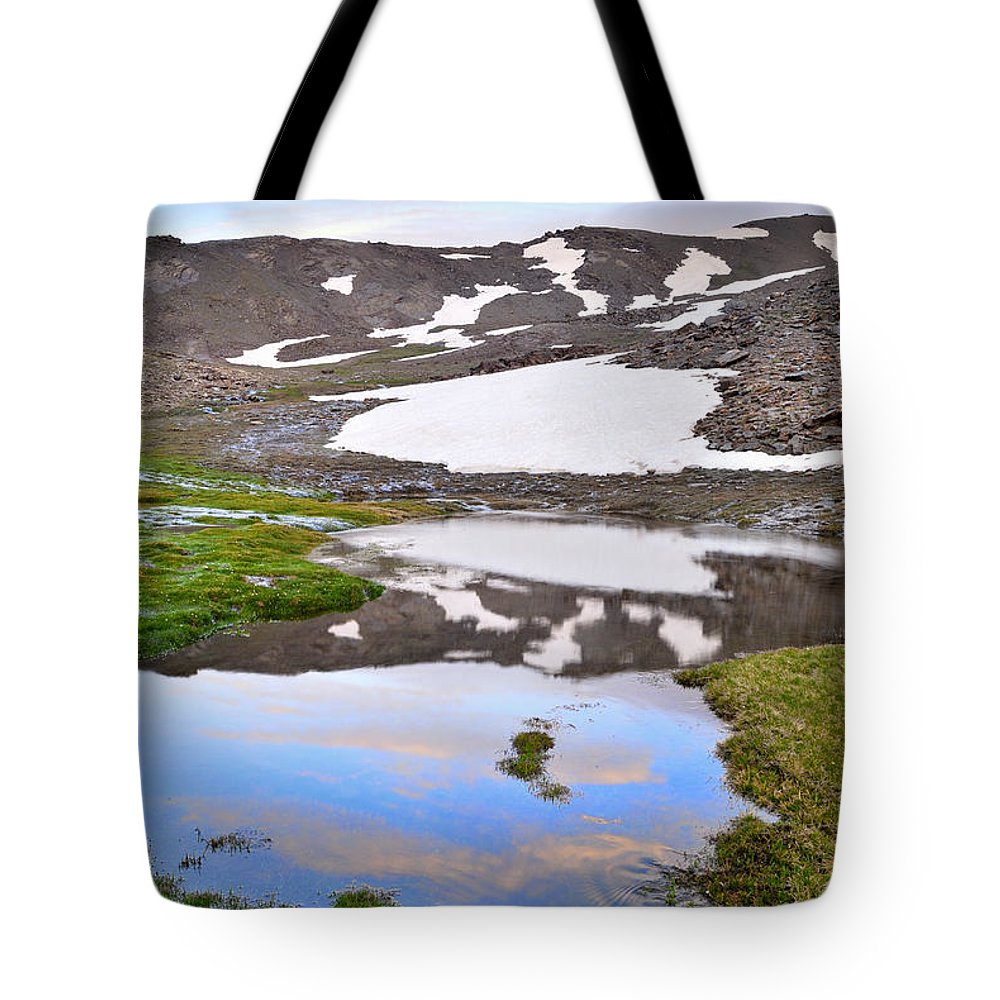 River Tote Bag featuring the photograph River San Juan And Lakes At Sunset by Guido Montanes Castillo