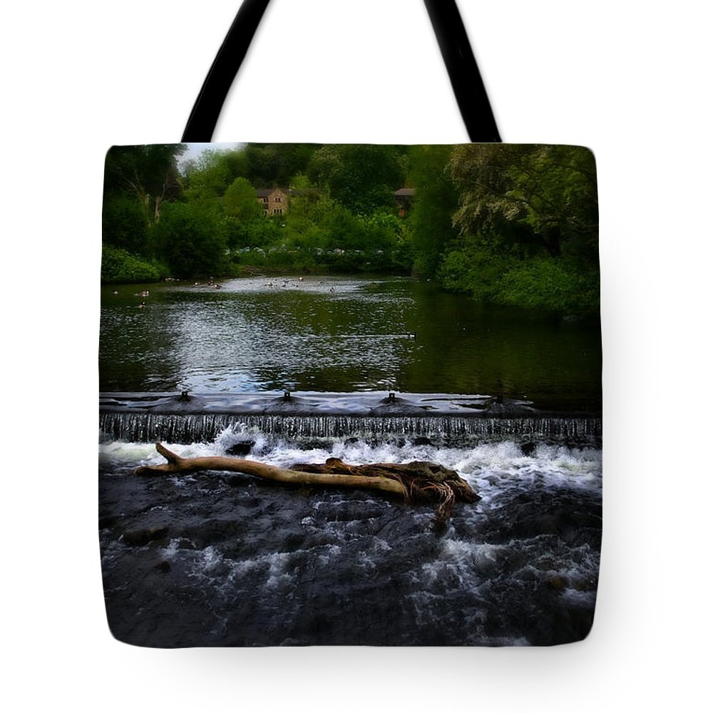 Bakewell Tote Bag featuring the photograph River Wye - In Peak District - England by Doc Braham