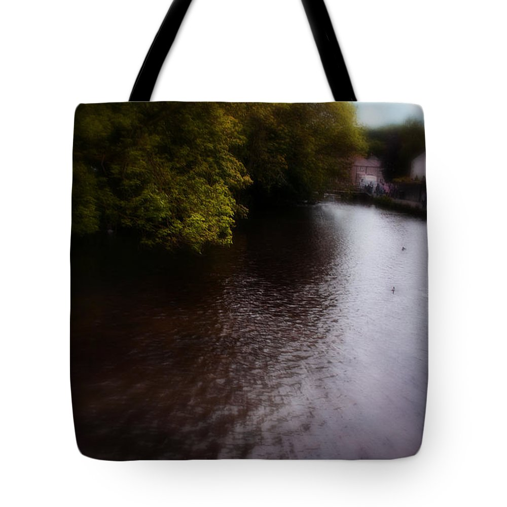 Bakewell Tote Bag featuring the photograph River Wye by Doc Braham