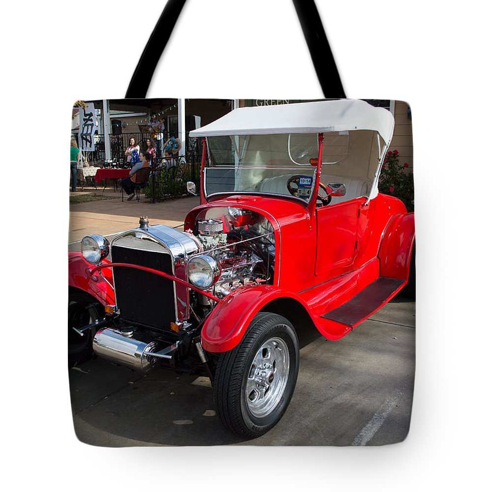 Ford Tote Bag featuring the photograph Roadster Redone For Fun by JG Thompson