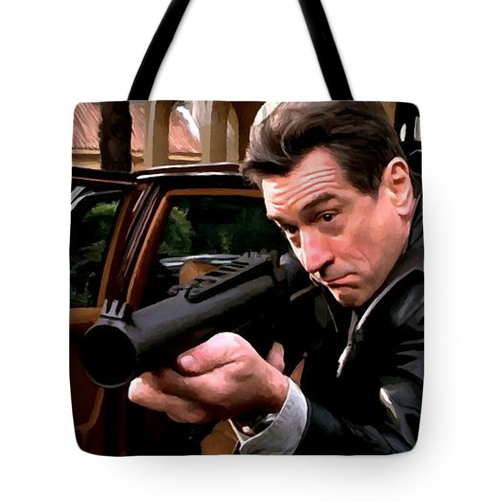 Robert De Niro Tote Bag featuring the digital art Robert De Niro @ Ronin by Gabriel T Toro