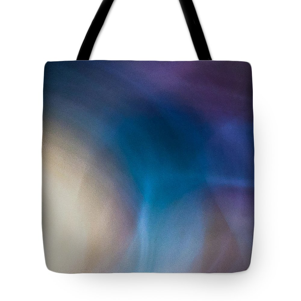 Tote Bag featuring the photograph Rock Lightpaintings - Rainbow Fluorite I - 4 Of 4 by Dave Markman