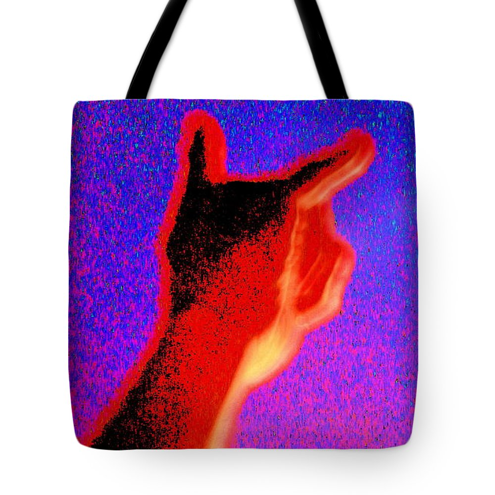 Rock Tote Bag featuring the photograph Rock On by April Patterson