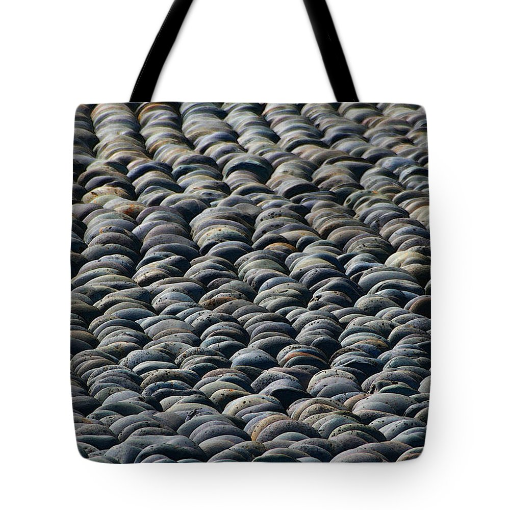 Rock On Rock Tote Bag featuring the photograph Rock On Rock by Tom Janca