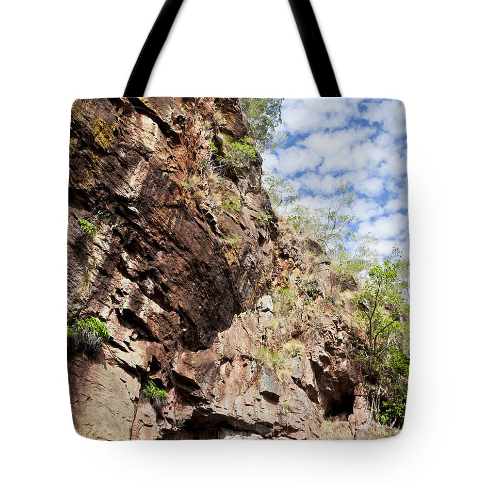 Australia Tote Bag featuring the photograph Rock Solid by F Innes - Finesse Fine Art