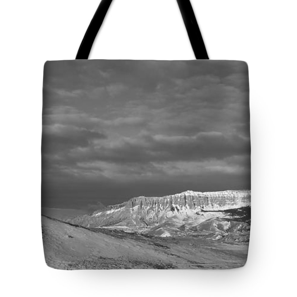 Rocky Mountain Front Tote Bag featuring the photograph Rocky Mountain Front by Fran Riley