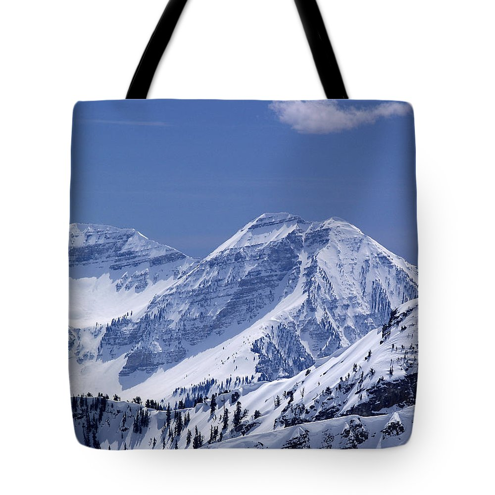 Mountains Tote Bag featuring the photograph Rocky Mountain High by Bill Gallagher