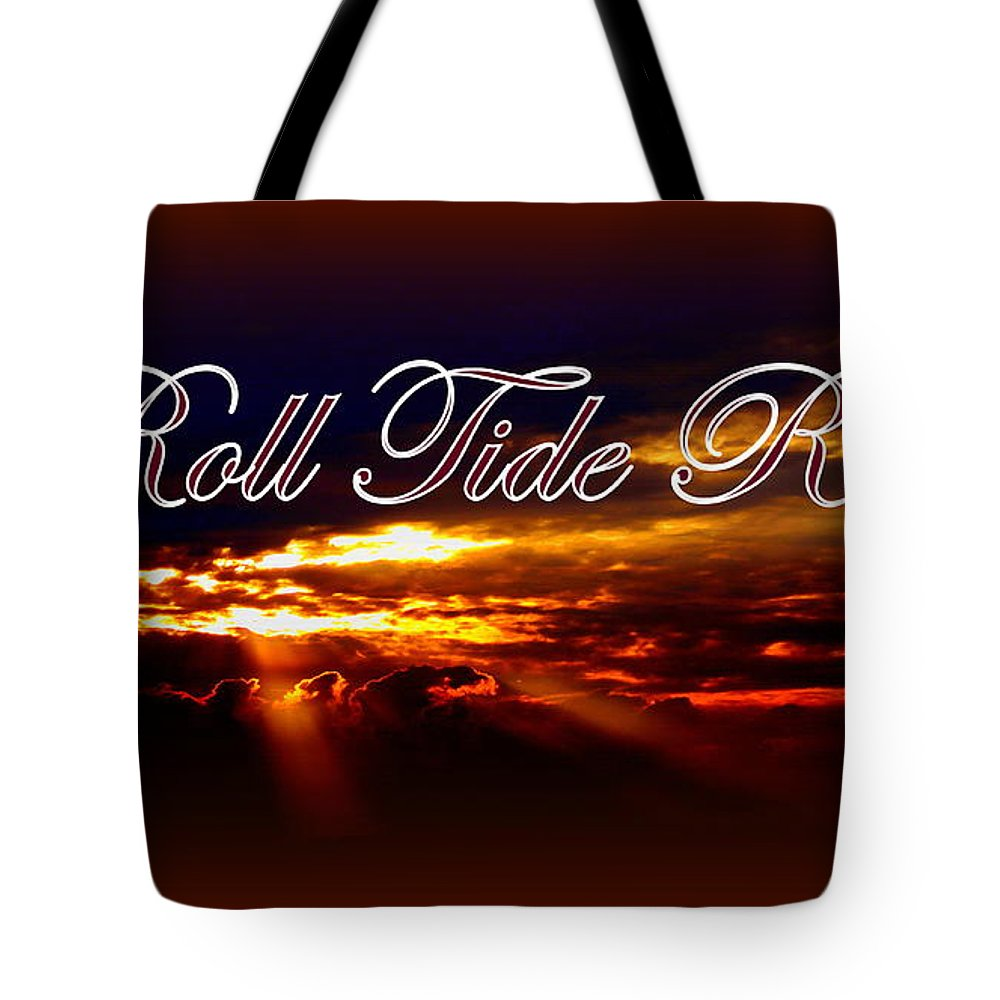 Alabama Tote Bag featuring the photograph Roll Tide Roll by Travis Truelove