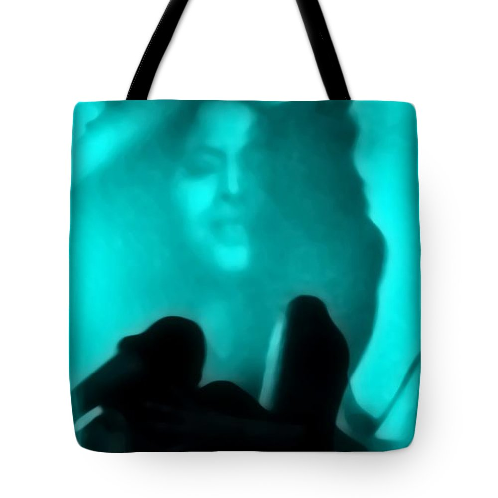 Blue Tote Bag featuring the photograph Rolling In The Deep by Jessica Shelton