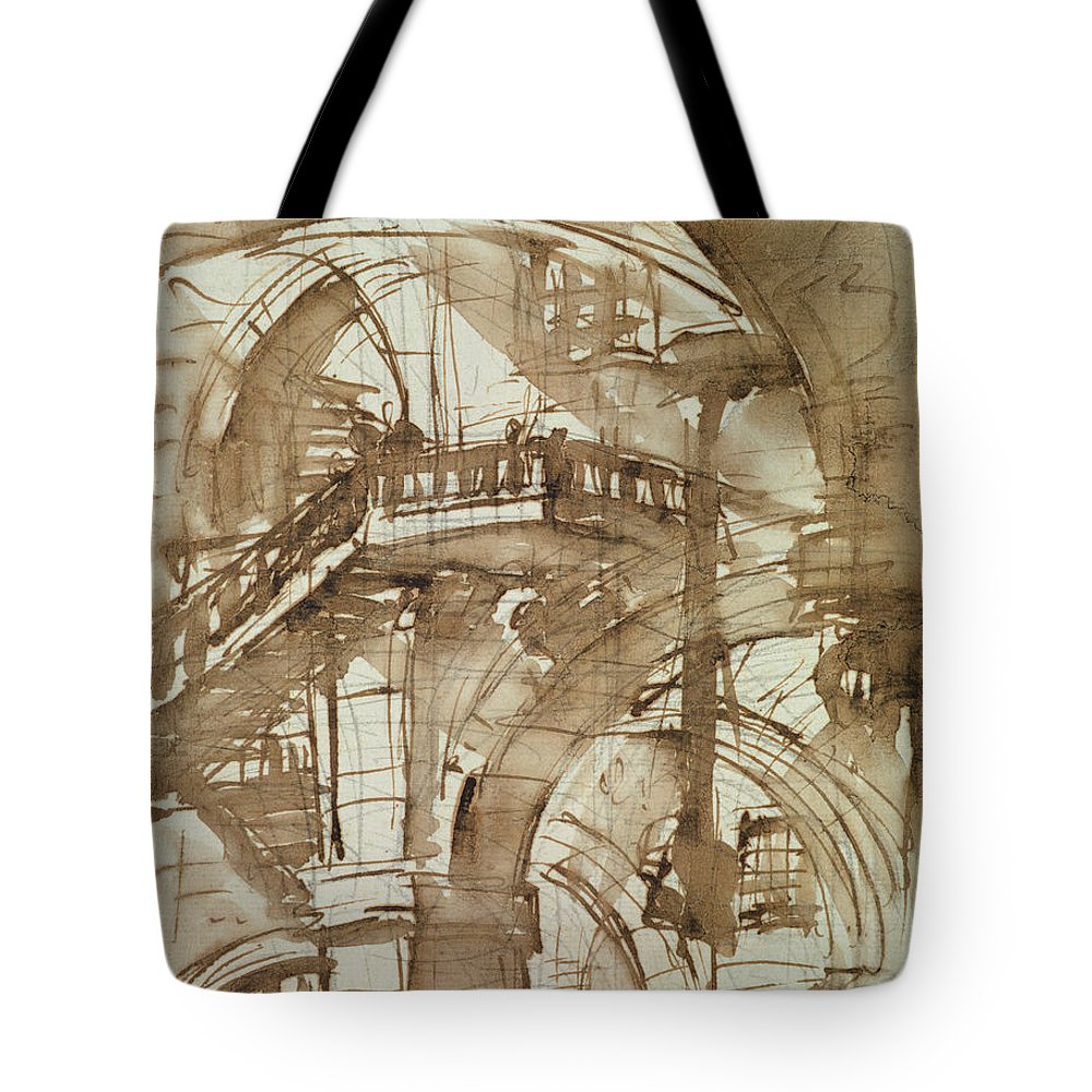 Structure Drawings Tote Bags