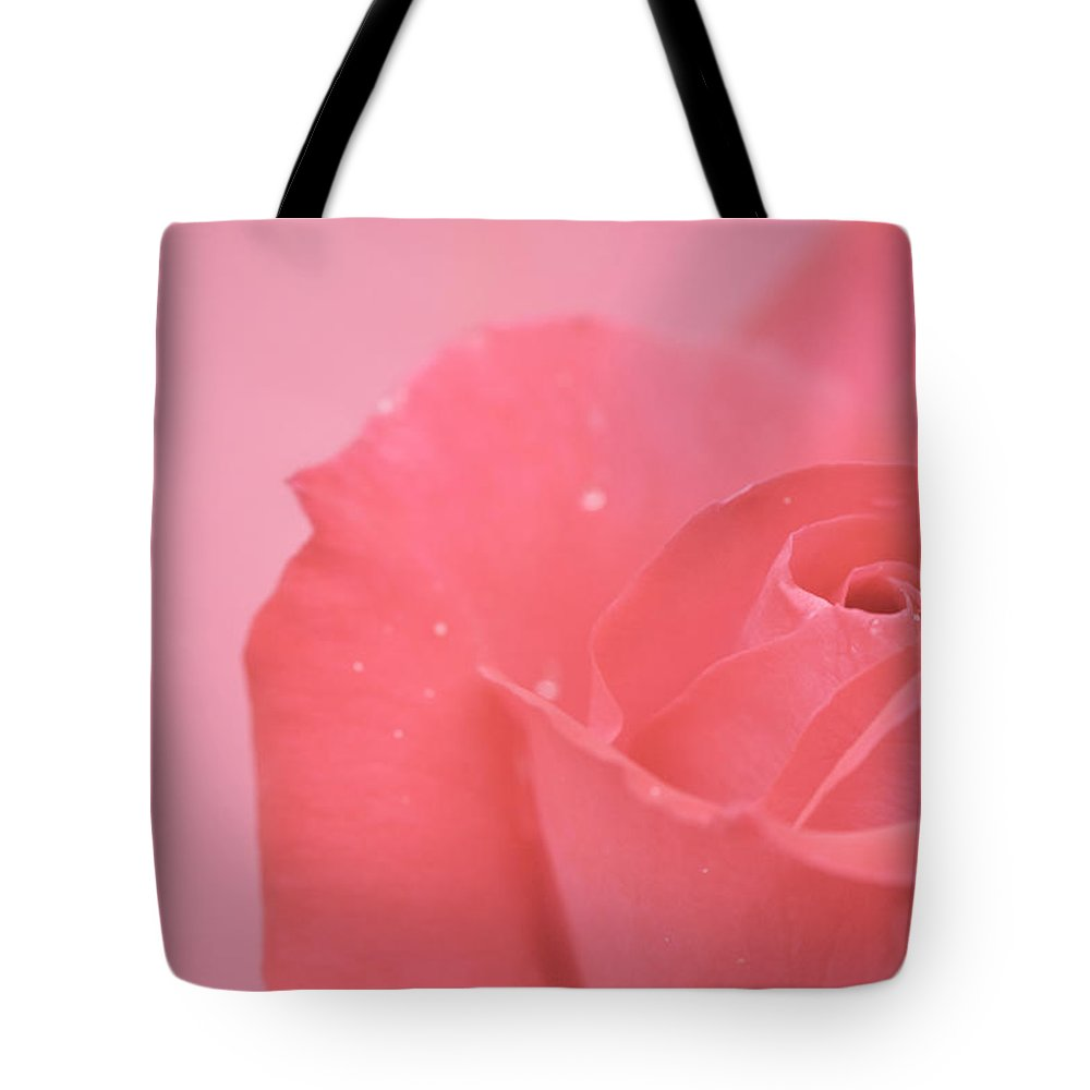 Pink Tote Bag featuring the photograph Romance by Lisa Knechtel