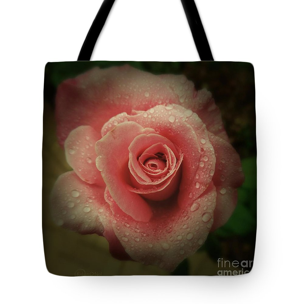 Rose Tote Bag featuring the photograph Romance by Robert ONeil