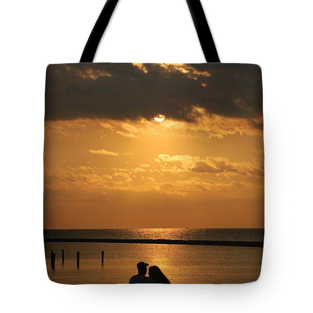 Romance Tote Bag featuring the photograph Romantic Sunrise by Leticia Latocki