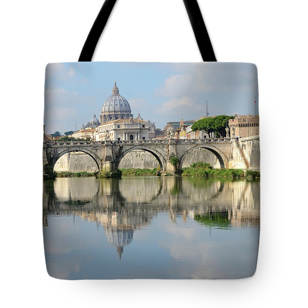 Arch Tote Bag featuring the photograph Rome by Madzia71