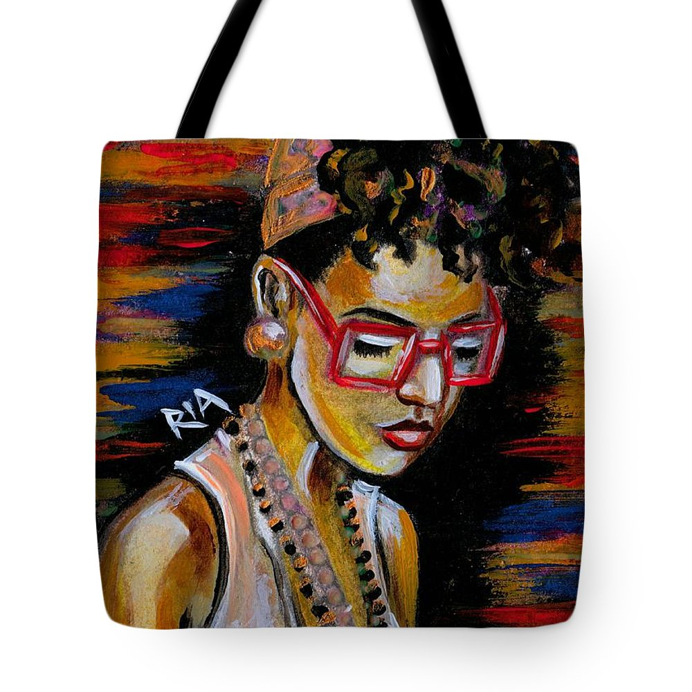 Beautiful Tote Bag featuring the photograph Romy by Artist RiA