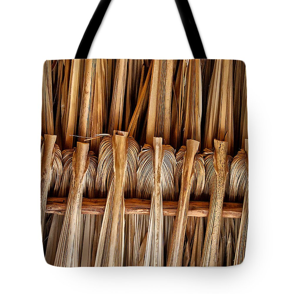 Palm Tote Bag featuring the photograph Roof by Stefan H Unger