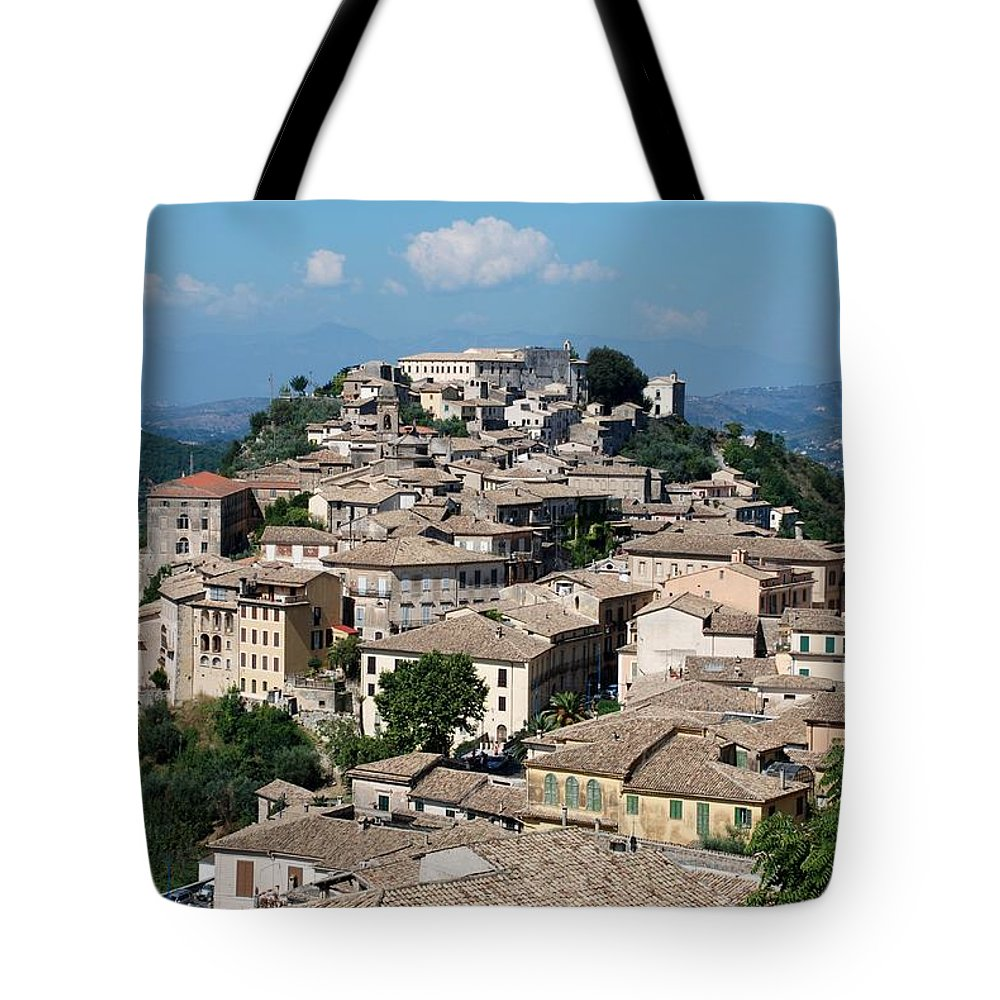 Arpino Tote Bag featuring the photograph Rooftops Of The Italian City by Dany Lison