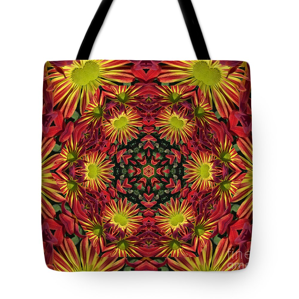 Kaleidoscope Tote Bag featuring the photograph Roomum by Judy Wolinsky