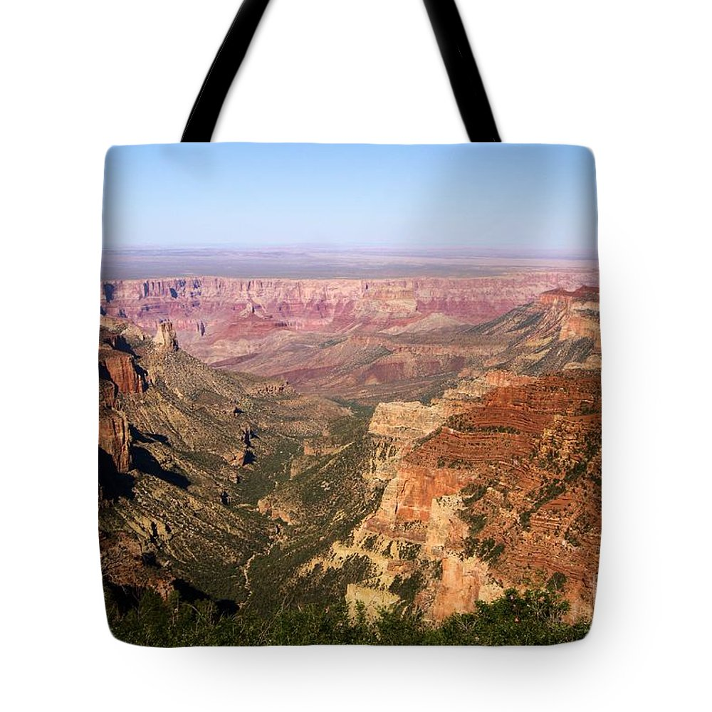 Roosevelt Point Tote Bag featuring the photograph Roosevelt Point by Adam Jewell