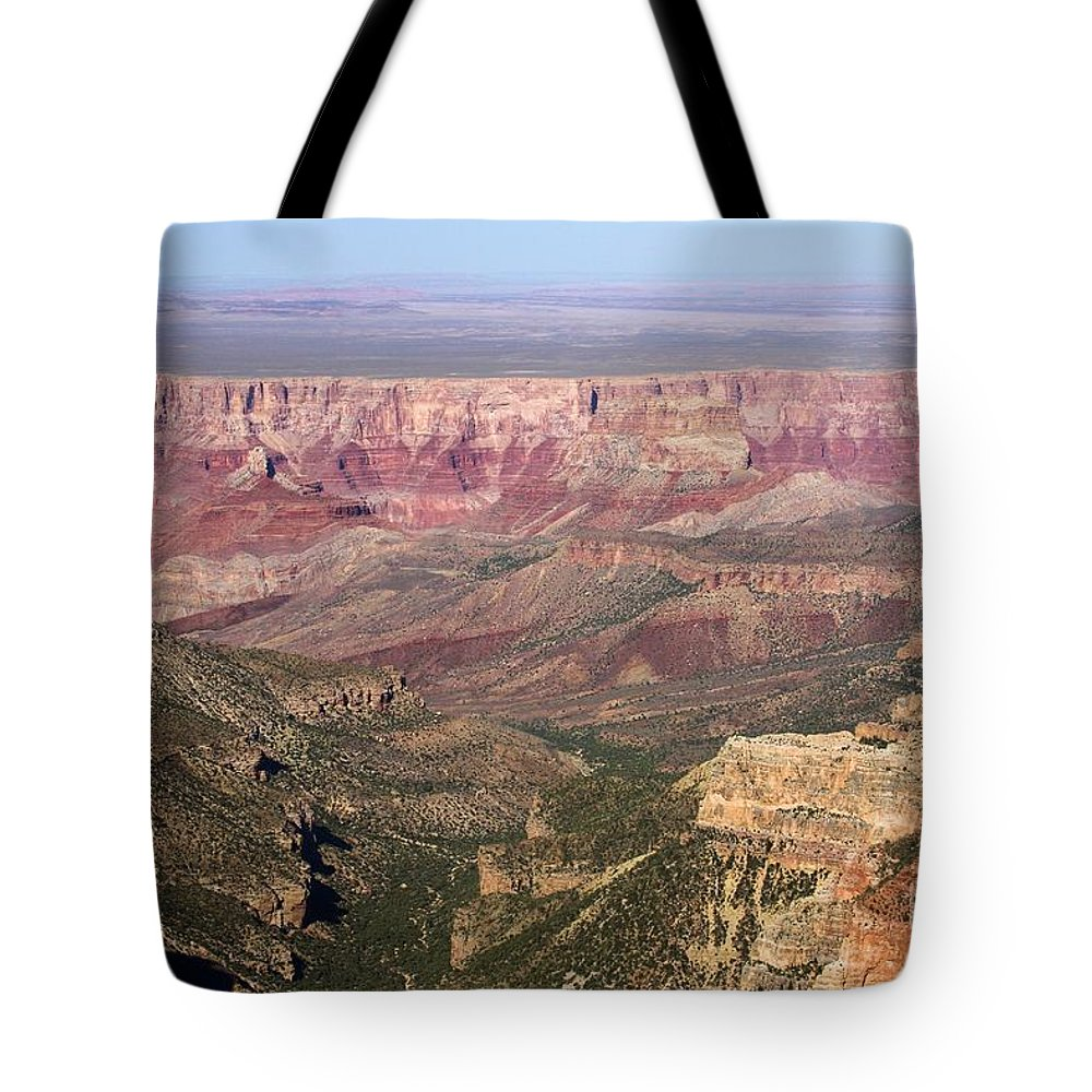 Roosevelt Point Tote Bag featuring the photograph Roosevelt Sweeping View by Adam Jewell
