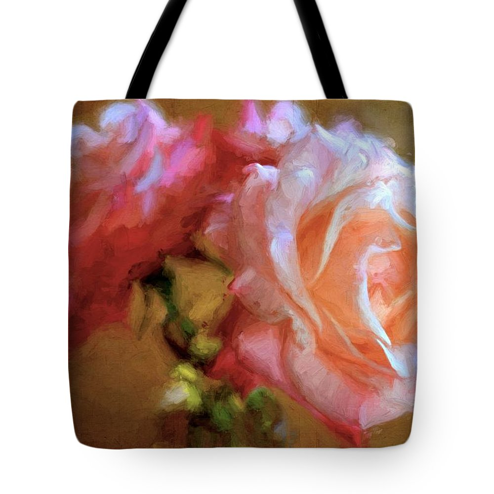 Floral Tote Bag featuring the photograph Rose 166 by Pamela Cooper