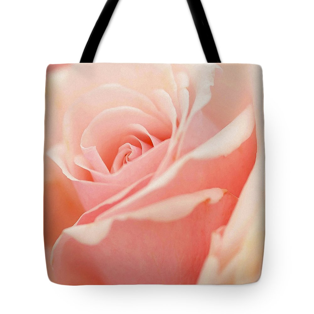 Rose Tote Bag featuring the photograph Rose 2 by Ingrid Smith-Johnsen