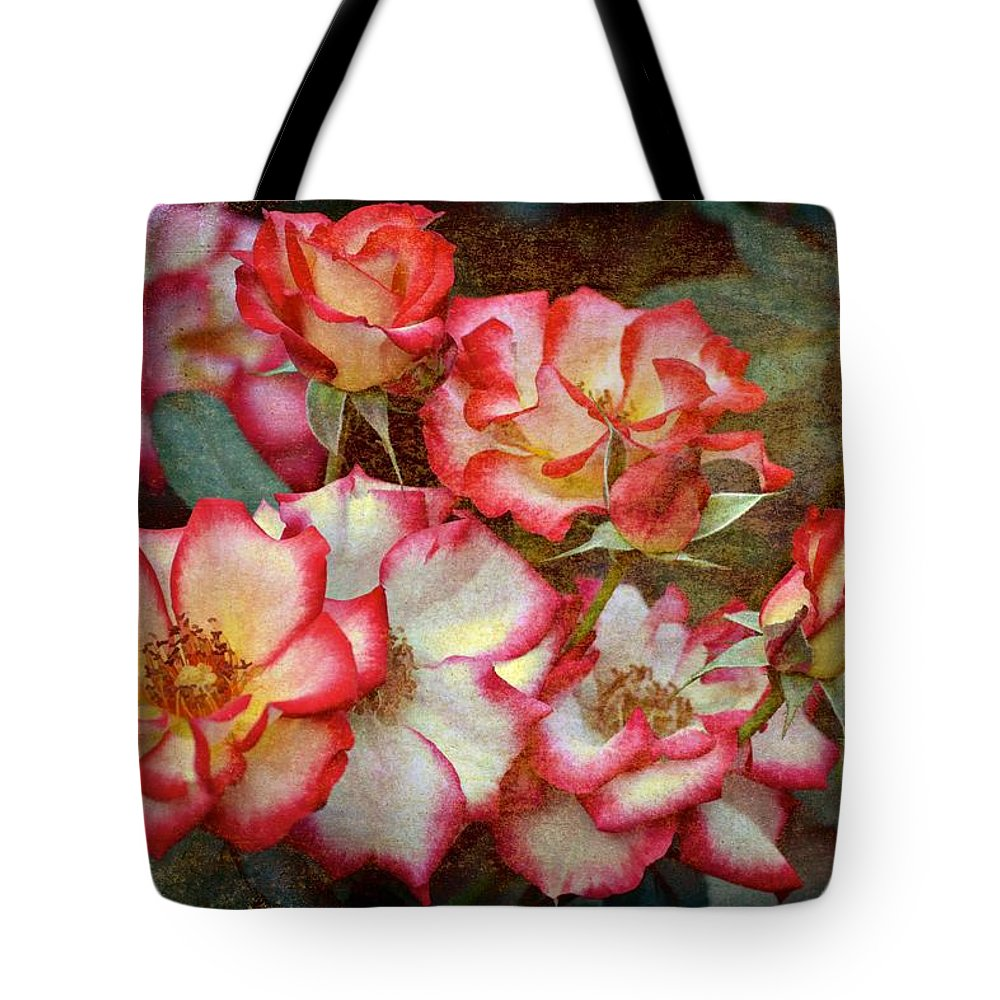Floral Tote Bag featuring the photograph Rose 305 by Pamela Cooper
