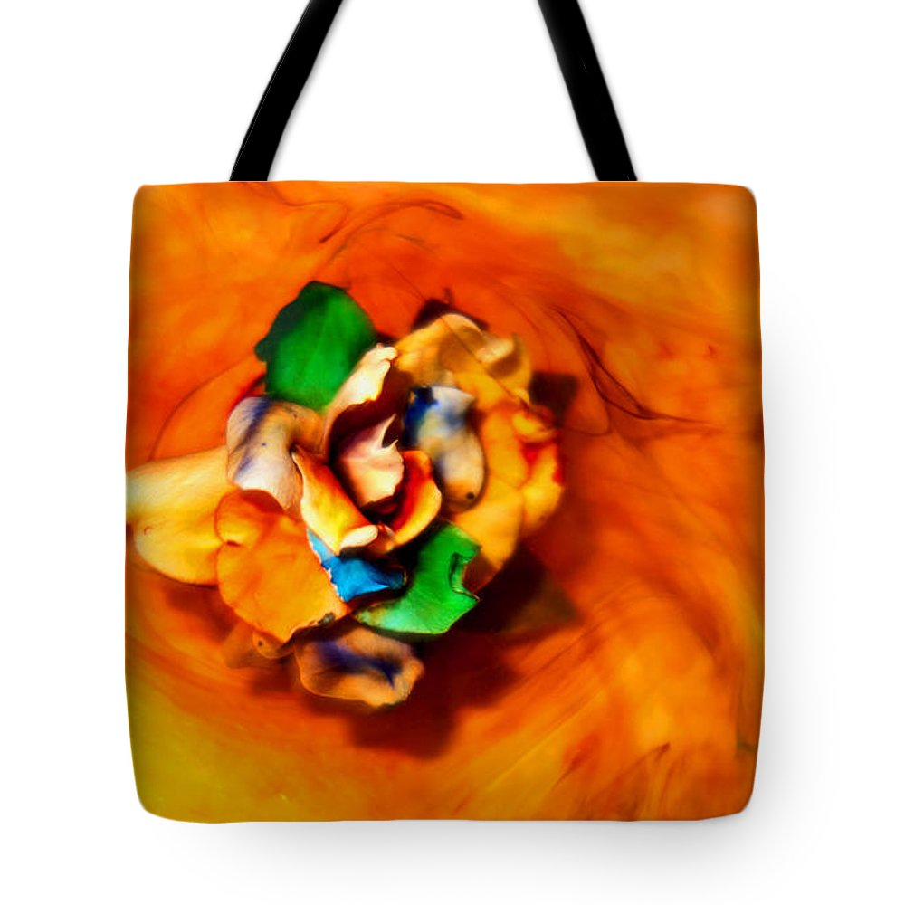 Photography Tote Bag featuring the photograph Rose In A Dream by Robert Zuchowski
