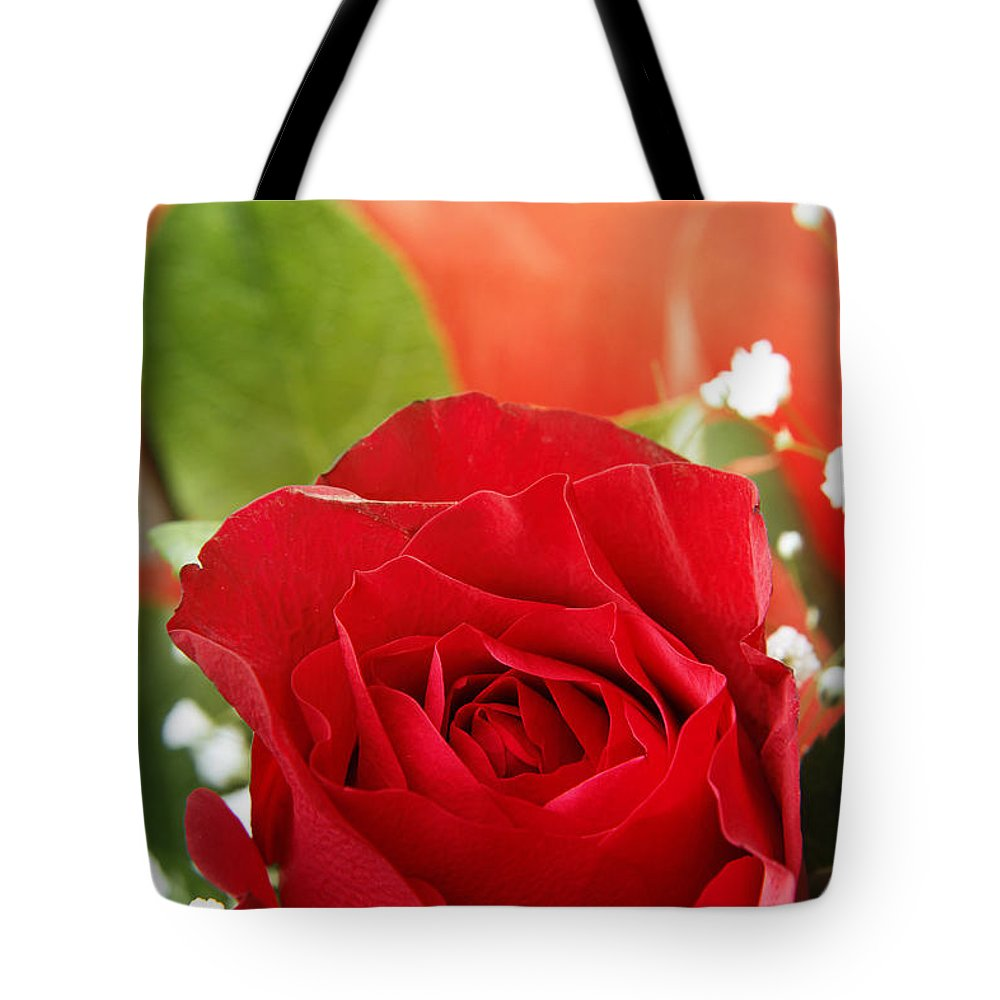Beautiful Tote Bag featuring the photograph Rose by Les Cunliffe