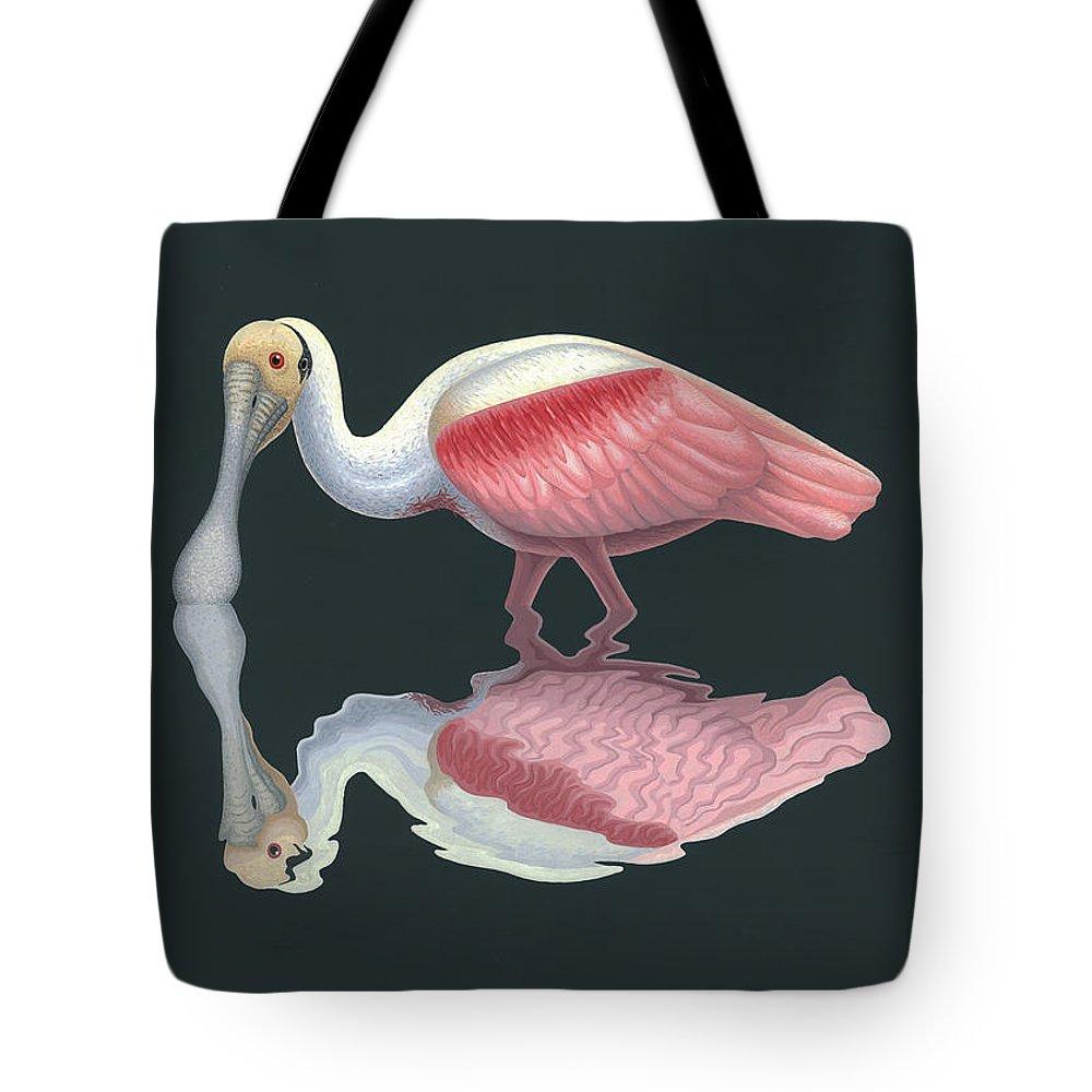 Spoonbill Tote Bags