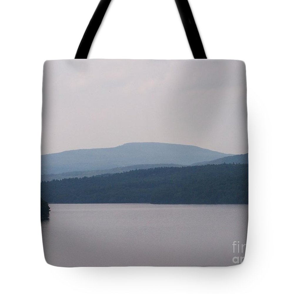 Roundout Reservoir Tote Bag featuring the photograph Roundout Reservoir by Kevin Croitz