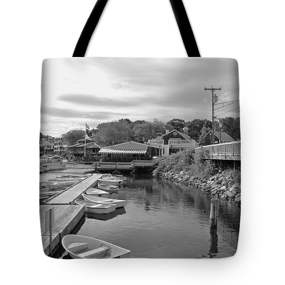 Scenic Tote Bag featuring the photograph Row Your Own Boat by Sheryl Bergman