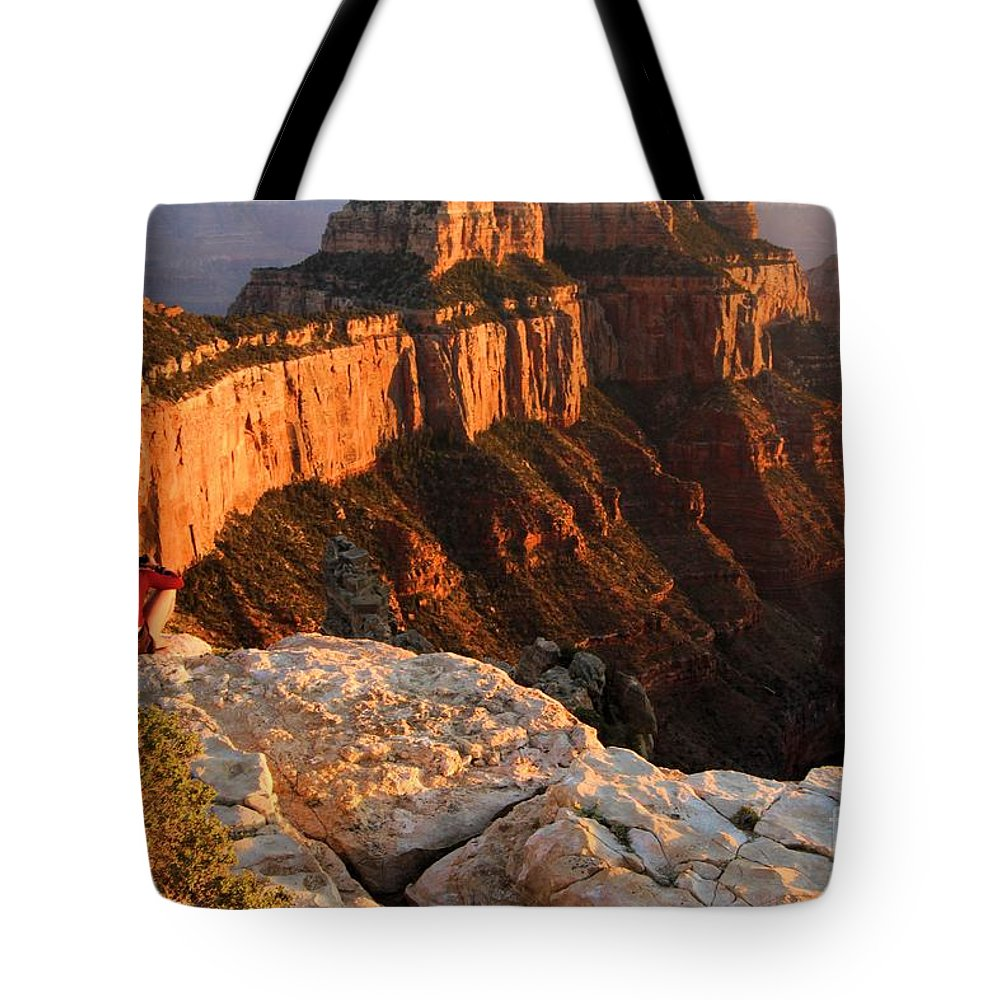 Grand Canyon Tote Bag featuring the photograph Royal Meditation by Adam Jewell
