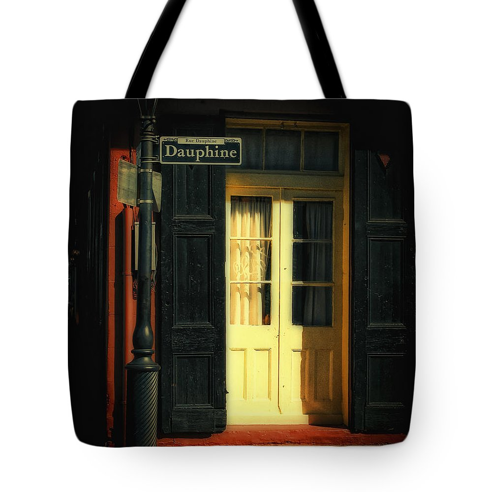 Dauphine Tote Bag featuring the photograph Rue Dauphine New Orleans by Kathleen K Parker