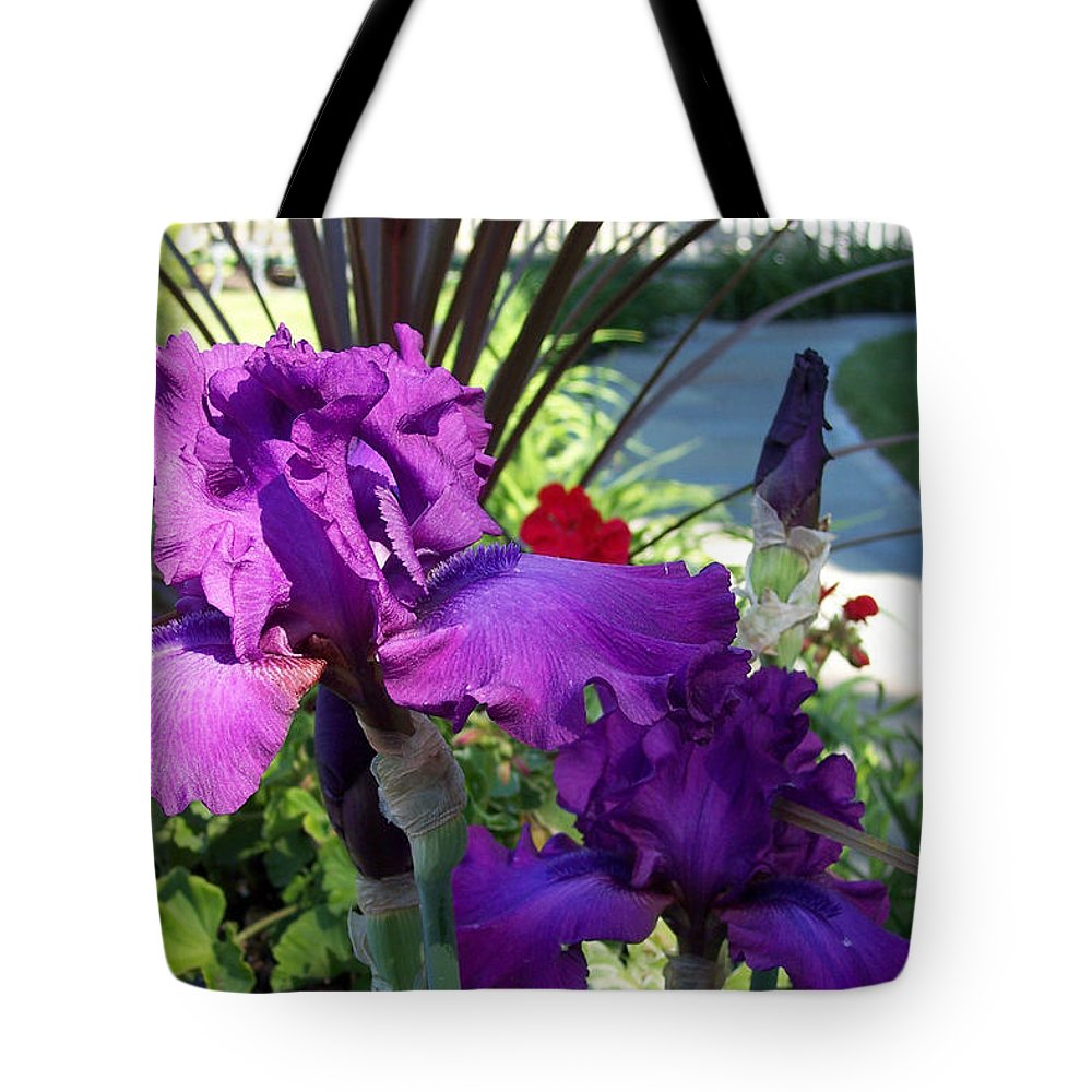 Flower Tote Bag featuring the photograph Ruffles And Flourishes by Georgia Hamlin