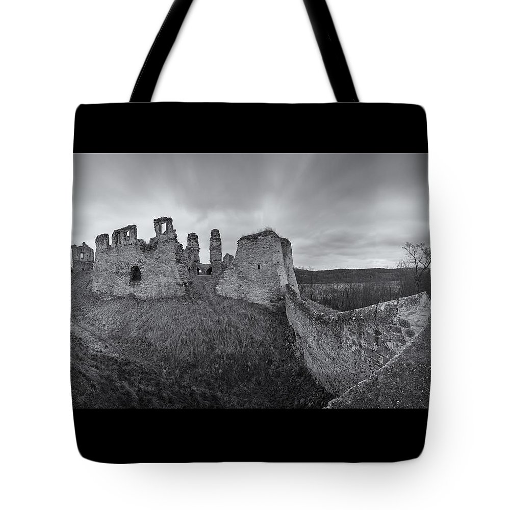 Ruins Tote Bag featuring the photograph Ruins Of European Medieval by Ondrej Tichy