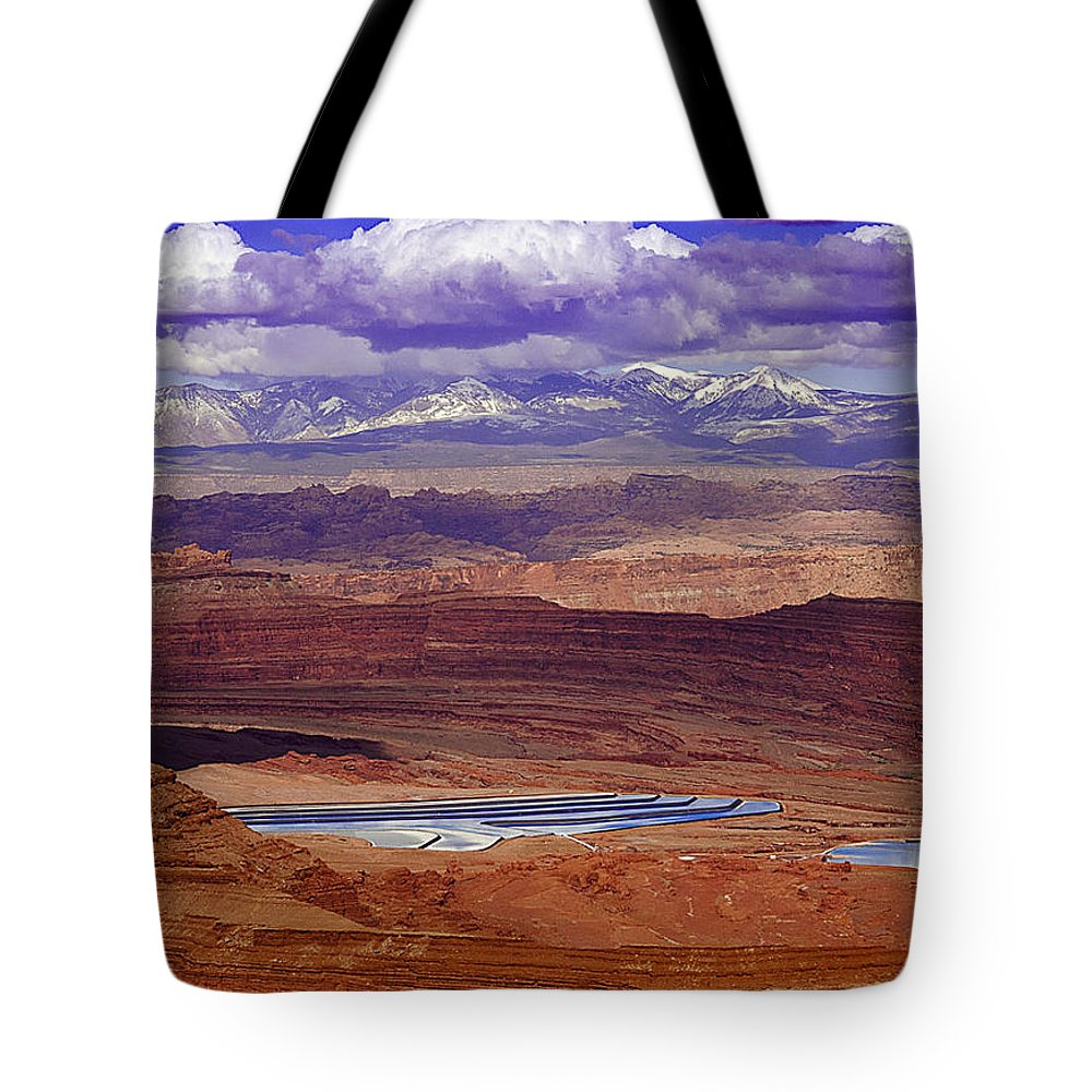 Trips Tote Bag featuring the photograph Run Off by Jean Noren