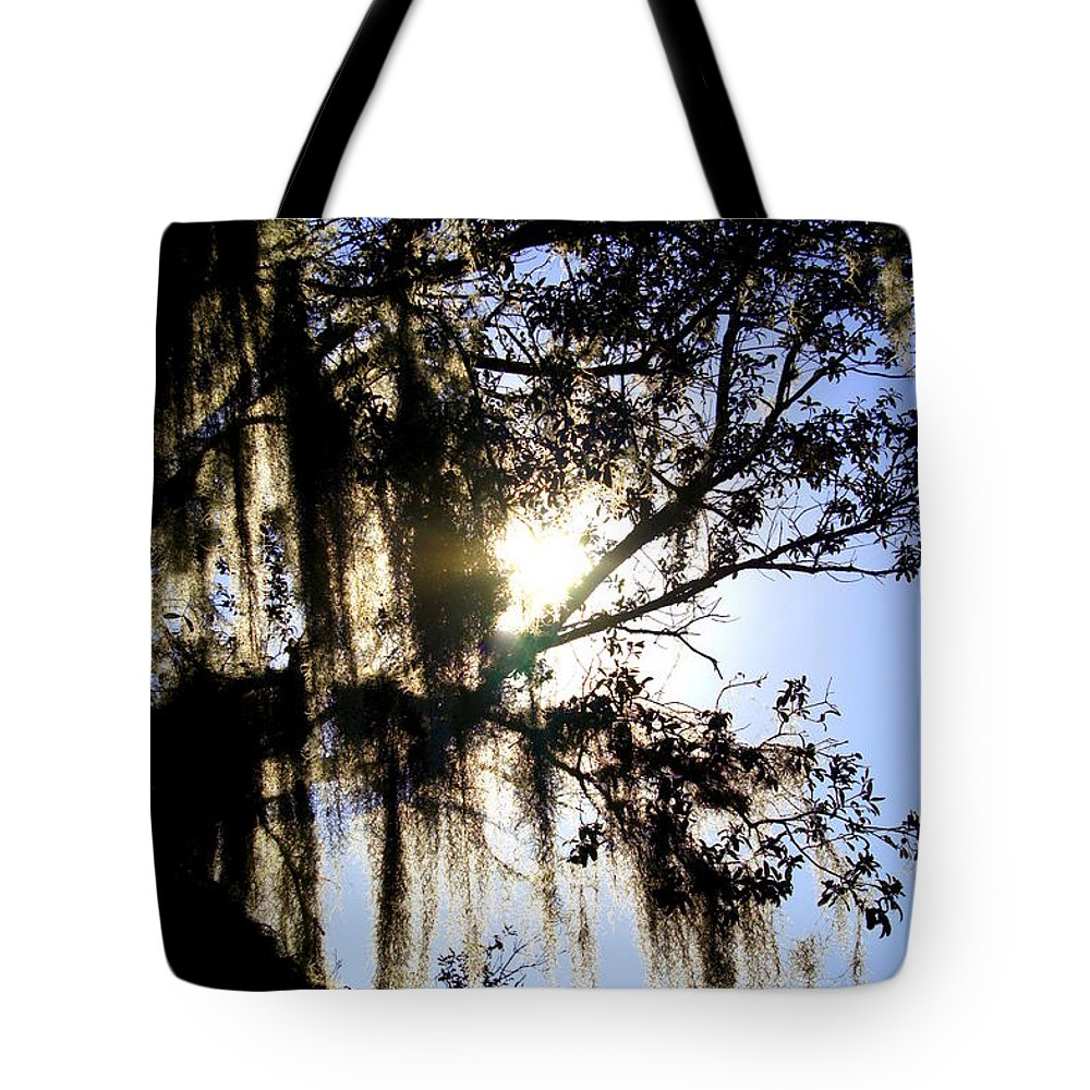 Florida Woods Tote Bag featuring the photograph Rural Florida Sky by Laurie Perry