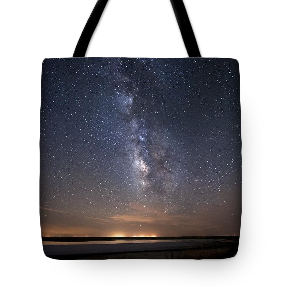Night Tote Bag featuring the photograph Rural Muse by Melany Sarafis